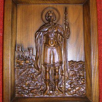 Икона - Георгий Победоносец (ростовая)