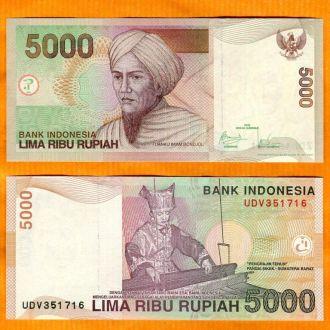 ИНДОНЕЗИЯ. 5000 Рупий 2001 UNC