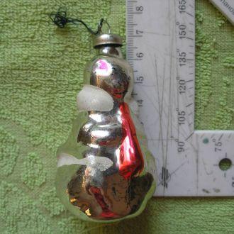 Елочная игрушка СССР Белка с дудочкой