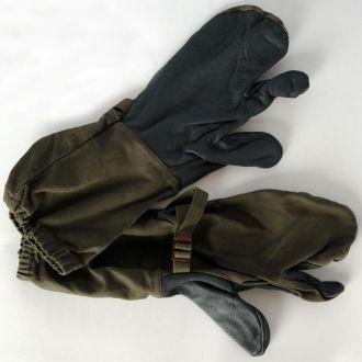 Перчатки краги 3-х палые., Bundeswehr, Германия