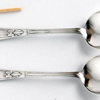 Ложечки 2 шт серебро 800 1900 гг. FRICKE 2 Germany