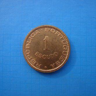 Португальский Тимор 1 эскудо 1970