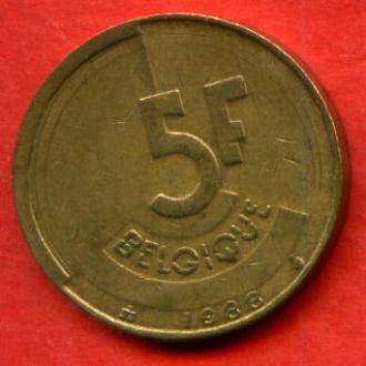 5 франков 1988