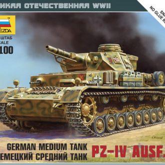 Немецкий средний танк Pz-IV Звезда6151