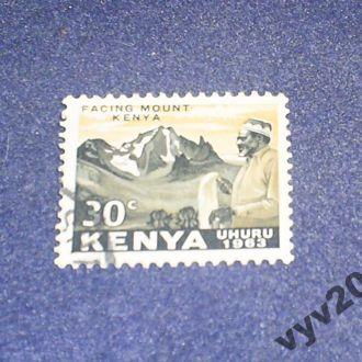 Кения-1963 г.-Гора