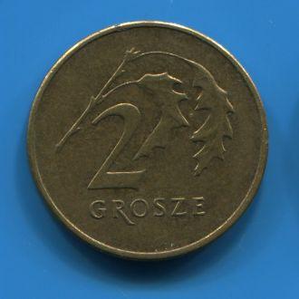 Польша 2 гроша 2011