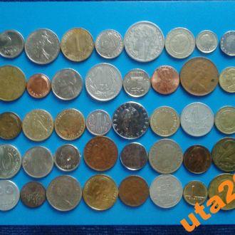 Монеты Мира без повторов 50 штук № 4