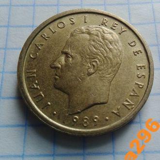 Испания 1989 год монета 100 песет