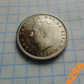 Испания 1980 год монета 5 песет VF