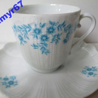 Antico Чашка  FRANCE  LIMOGES  A. GIRAUD. костяной фарфор. клеймо 1836