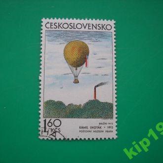 Чехословакия.  1972 Воздушный шар