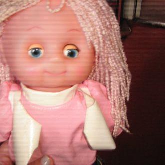 кукла мягкая 45 см говорящая