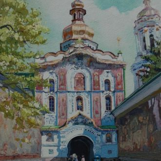 """Картина """"Киев. Лавра"""" Микитенко В."""