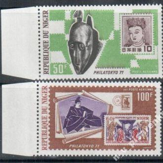 Нигер 1971 филателия  MNH