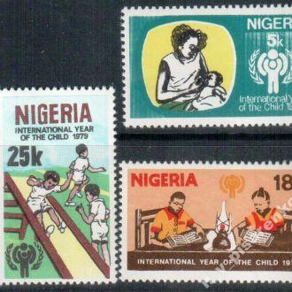 Нигерия  1979  дети  MNH