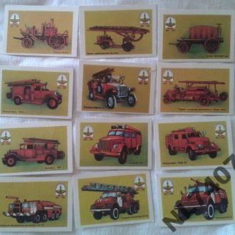 Набор календарей 1991г. Пожарной охране Киева 150