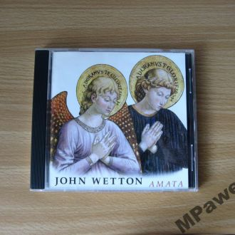CD John Wetton - Amata. Лицензия CD-Maximum.