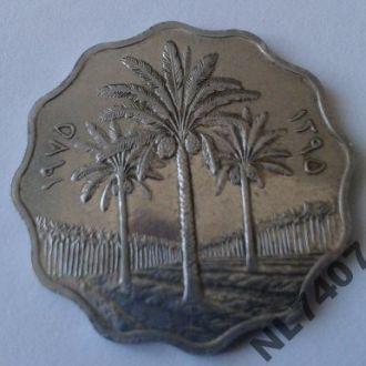 10 филсов 1975 ФАО UNC Ирак