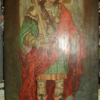 Икона АРХАНГЕЛ,АРХИСТРАТИГ МИХАИЛ,масло
