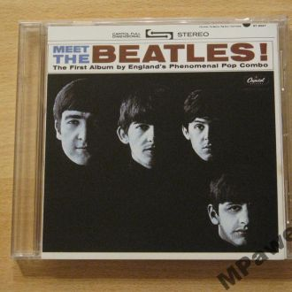 CD The Beatles. Meet The Beatles. 1964/2014.