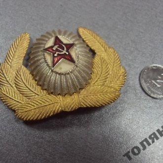 кокарда ссср составная офицерская