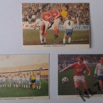 Календарики Футбол 1989 р.