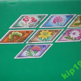 Монголия 1975 Цветы полн.