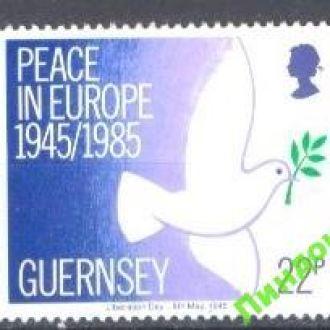 Гернси 1985 Мир птицы ** о