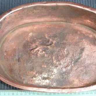 Антиквар. медная посуда сотейник царизм сковородка