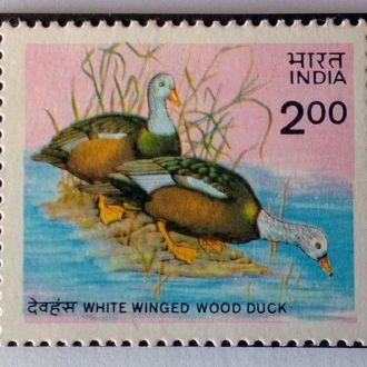 Индия Утки фауна птици 1985 MNH