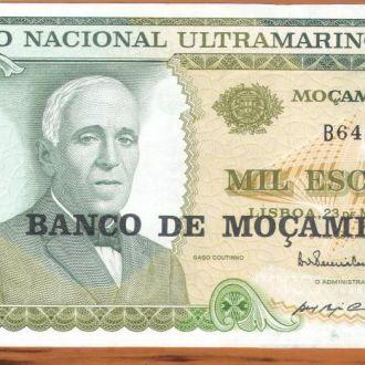 Мозамбик. 1000 эскудо. 1972 г. UNC.