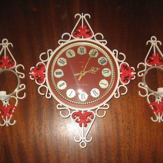 Часы настенные ЯНТАРЬ ОЧЗ новые  (СССР)