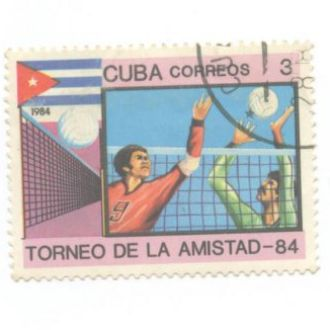Спорт Куба волейбол поло 1984