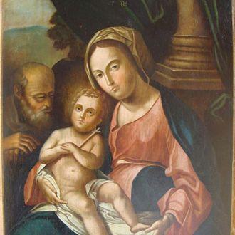 икона Божья Матерь с Иоанном Крестителем