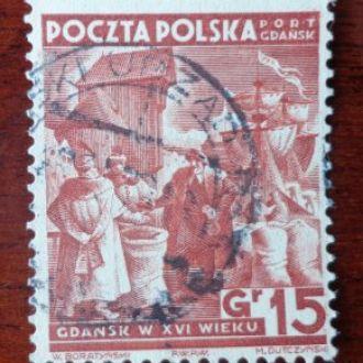 Польша-Германия,порт Гданск,М№35-25эвро