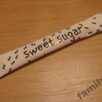 Пакетик с сахаром № 310