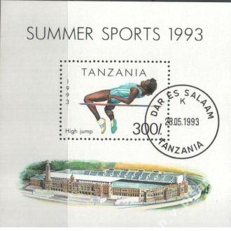 Танзания 1993  Спорт   MNH