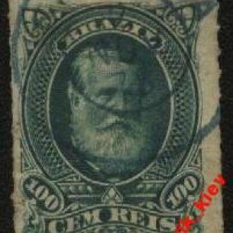 Бразилия 1876 г.№34 гаш