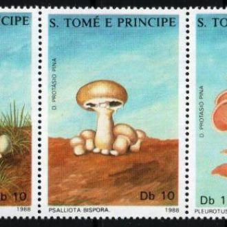 Сан Томе и Принсипе 1988 Флора Грибы   MNH