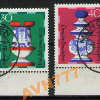 Германия ФРГ 1972 Шахматы Фигуры поля 3,40 евро