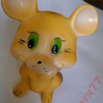 Резиновая игрушка из СССР Мышка