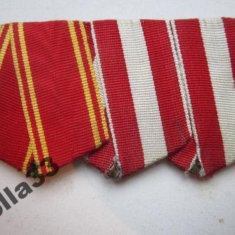 Тройная колодка Орден Ленина Красная звездатяжелая