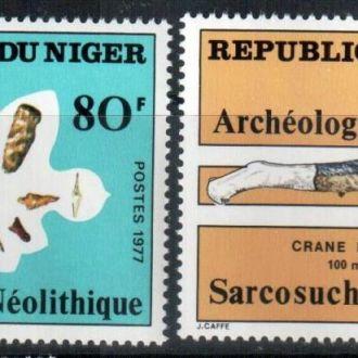 Нигер 1977 Археология MNH
