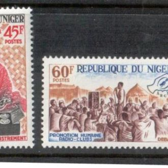Нигер 1965 радио клуб музыка MNH
