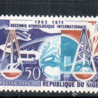 Нигер 1966 наука весы  MNH