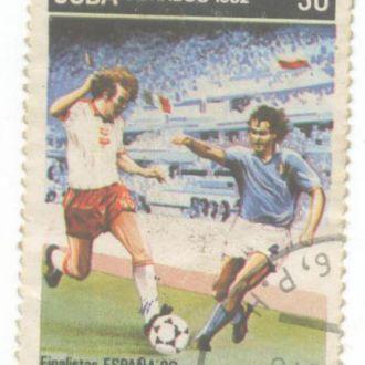 Спорт Куба чемпионат футбол 1982