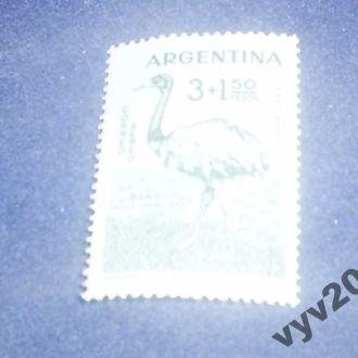 Аргентина**-1960 г.-Страус (концовка)