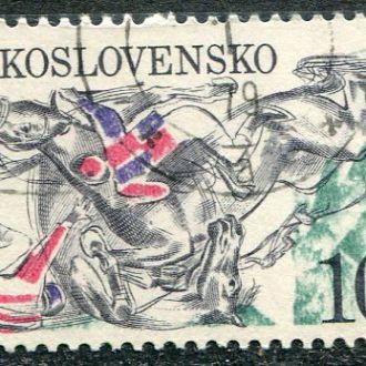 Чехословакия Спорт Лошади Конный спорт гаш