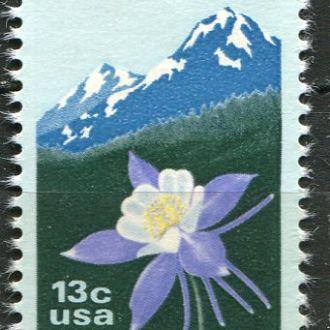 США Флора Цветы штата Монтана негаш