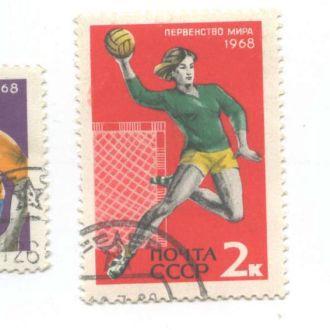 Спорт СССР волейбол теннис парусные1968